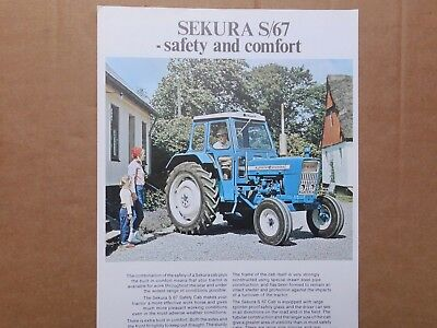 FORD 4000 / MF 148 BROCHURE  1970s