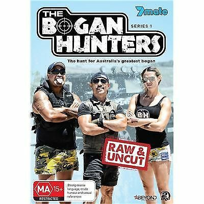 B53 BRAND NEW SEALED The Bogan Hunters : Series 1 (DVD, 2014, 2-Disc Set)