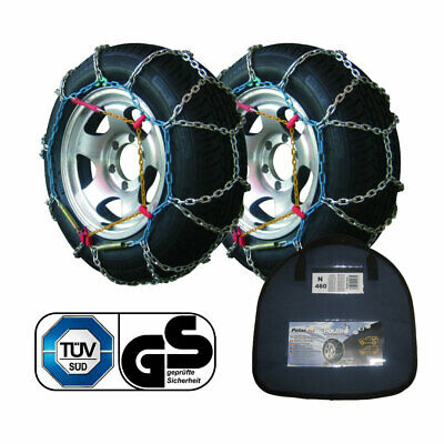 Universal Caravan Motorhome /& Car Snow// Mud Chains Cable Tied Mud Escapers