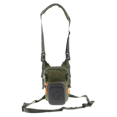 Multi-purpose Fly Fishing Chest Pack Bag Outdoor Tackle Hook Bait Pack Case