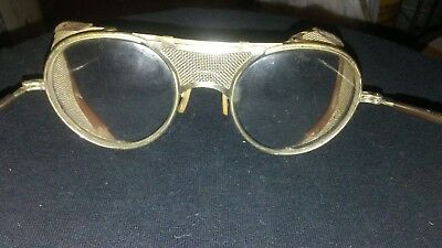 Vintage Bausch & Lomb Safety Glasses 22 47 Steampunk Motorcycle