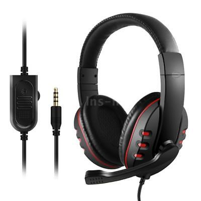 3.5 mm filo Gaming Cuffie Noise Canceling Headset per PS4 portatile XBOX ONE PC