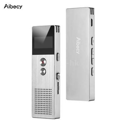 Aibecy M23 Registratore vocale digitale professionale da 8 GB / 16 GB L3C0