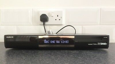 Humax PVR-9300T 320GB. Includes remote and instruction manual.