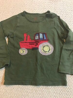 Mini Boden Tractor Top 2-3 Years