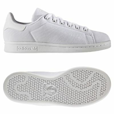 best loved 44df7 c0713 adidas ORIGINALS STAN SMITH JUNIOR TRAINER WHITE BOYS GIRLS SNEAKERS SHOES