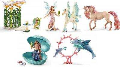 Schleich Fairy Pack - Including Elf Guest House + Fairies-New-Boxs damaged