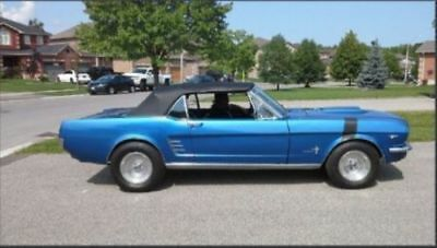 Ford: Mustang 1966 Ford Mustang convertible