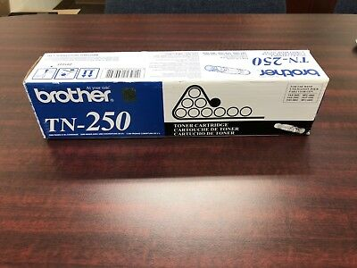 Brother Tn250 (Tn-250) Toner Cartridge Fax-2800/2900/3800 Mfc-4800 Dcp-1000