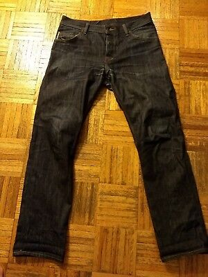 Raleigh Denim Jones Selvedge Jeans Made In Usa 44 00 Picclick
