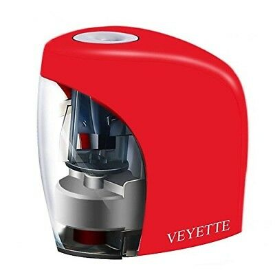 Electric Pencil Sharpener, Veyette Electrical Automatic Sharpener for NO.2 ...