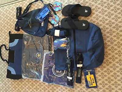 Royal Caribbean Cruise Line Duffle Bags, Luggage Straps, Tags Etc.