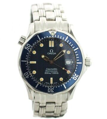 Omega Seamaster Mid Size Stainless Steel Diver 36mm Swiss Quartz Men's Watch
