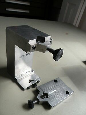 Precision grinding V-block (with interchangeable heads)