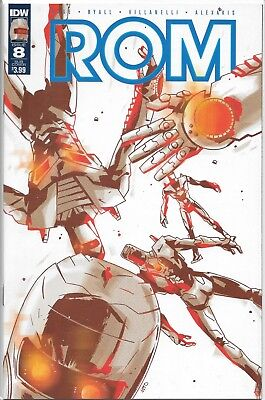 IDW ROM 8 SUB-C variant cover D featuring GI Joe *I USE FREE COMBINED SHIPPING!*