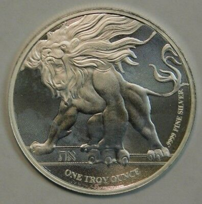 2 Dollars Roaring Lion 2018 NIUE 1 oz Silver Coin Check Pics!!