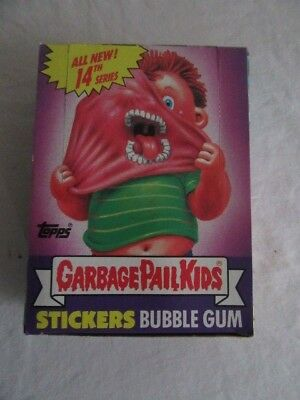 1988 Garbage Pail Kids ALL NEW SERIES 14