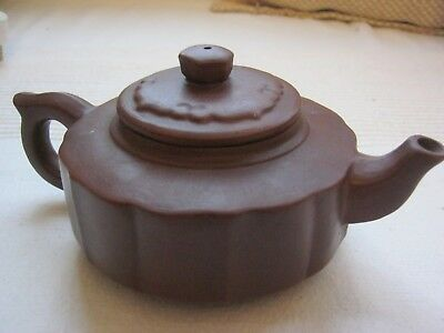 Chinese Yixing clay teapot, marked - Early 20th century, excellent condition