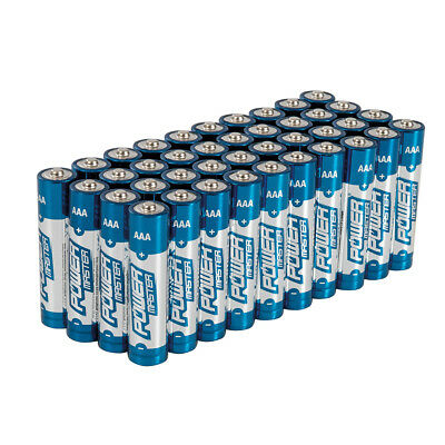 AAA 1.5V Super Alkaline Battery Batteries LR03 MN2400 40pk Remote Toys Torch New