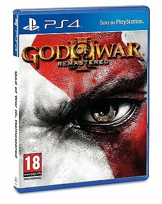 God of War 3 Remastered  playstation 4  ( PS4 )