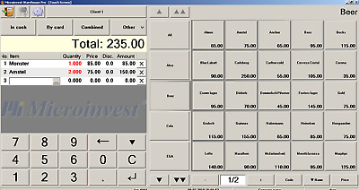 POS software for retail and restroran