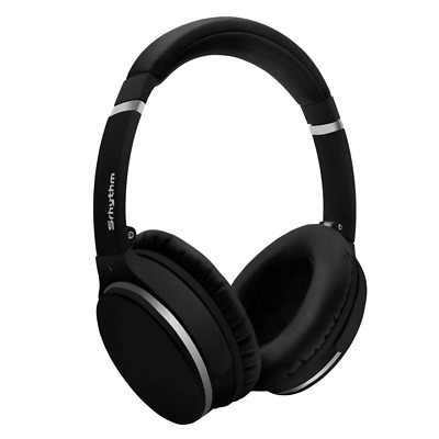 Wireless Bluetooth Headphone Foldable Over-Ear Stereo Built-in Mic Black