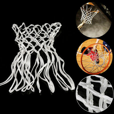 Deluxe Non Whip Replacement Basketball Net Durable  Nylon Hoop Goal Rim Mesh