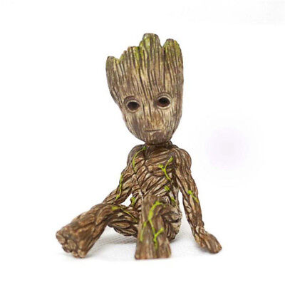Little Baby Groot Guardians of the Galaxy vol.2 Sitting Tree Man 6cm Figur