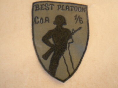 US Army Patch Best Platoon Co A 1/6 Inf. BERLIN