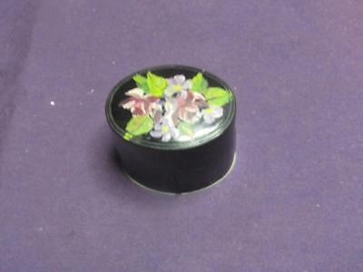 Colt Plastic Eye Wash Cup.  Black Cover with  Roses