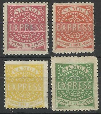 Samoa Qv Express Stamps F1 Forgeries Mint
