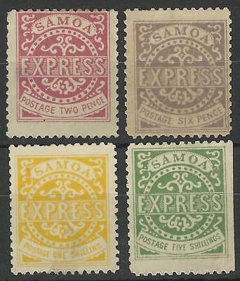 Samoa Qv Express Stamps F2 Forgeries Mint
