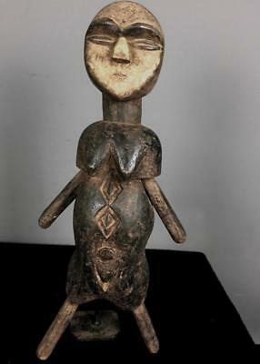 Old Tribal Eket Figure With Movable arm and Legs     ---  Nigeria