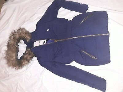 Lovely blue Joules Coat Aged 7/8