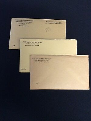 1960-1962 United States Mint 90% Silver Proof Sets