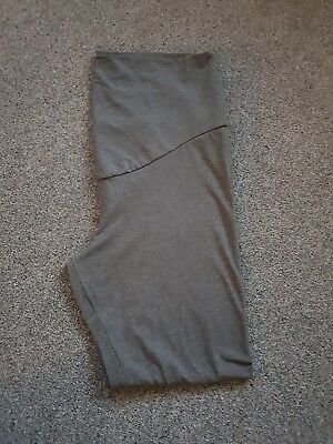Maternity Over Bump Leggings Size 18 grey