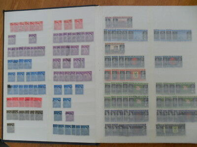Guernsey Stockbook with over 1300 stamps - much duplication