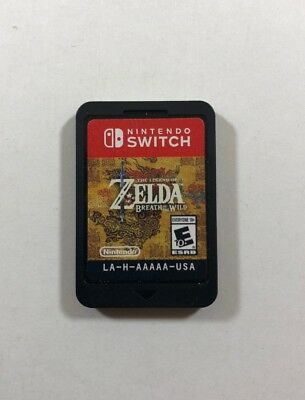 The Legend of Zelda: Breath of the Wild (Nintendo Switch) Free Fast Shipping