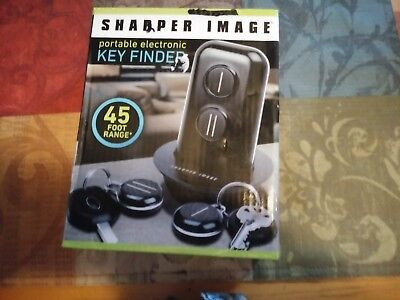 New Sharper Image , Key Finder, portable electronic ,45 foot range , for 2 keys