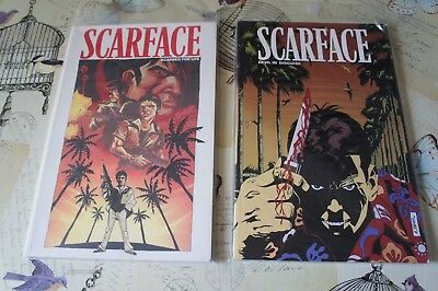 Scarface Graphic Novels Scarred For Life & Devil In Disguise
