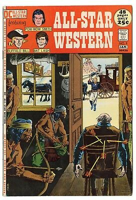 All-Star Western #9 VF/NM 9.0 off-white pages  Bat Lash  DC Giant  1972  No Resv