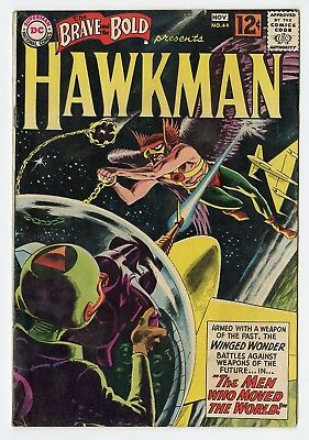 Brave & Bold #44 VG/FN 5.0 off-white pages  Hawkman  DC  1962  No Reserve