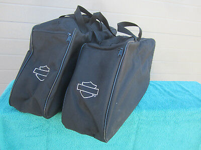 Genuine OEM Harley touring Deluxe Saddlebag liner inner luggage travel bags