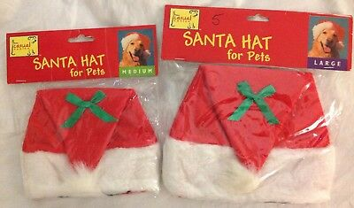 Casual Canine Santa Hat For Pets Dogs Size Small Med or Large New!