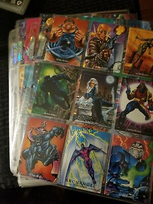 1992 Marvel Masterpieces Complete Base Set Joe Jusko art! Thanos, Dr Strange