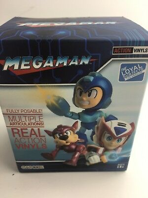 Capcom Mega Man blind box with posable real action vinyl figures New