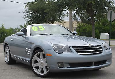 2005 Chrysler Crossfire Limited Convertible 2005 CHRYSLER CROSSFIRE LIMITED ROADSTER, 3.2L V6, AUT TRANS, RWD, NO RESERVE.