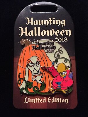 Disney Parks Jafar Haunting Halloween 2018 Limited Edition Trading Pin