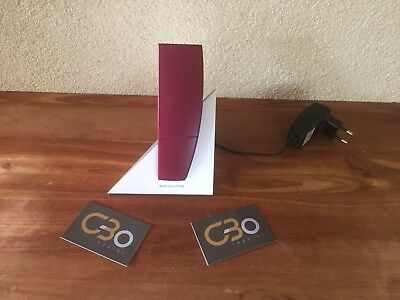 Bang & Olufsen. Beocom 6000 Wine Red & Table Charger