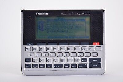 Franklin Electronic Speaking MERRIAM-WEBSTER'S COLLEGIATE DICTIONARY SCD-1890